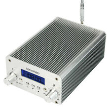 New 1W/6W PLL FM Transmitter Mini Radio Stereo Station&Telescopic Antenna&Power
