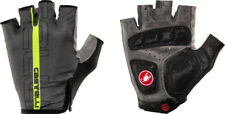 Gants Castelli Tempo V GLOVE anthracite / jaune fluo Taille S Cycling Glove