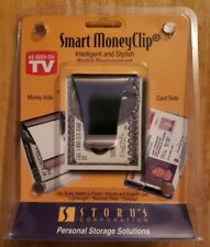 STORUS SMART MONEY CLIP CREDIT CARD HOLDER