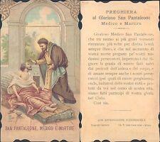 R@RISSIMO SANTINO DI SAN PANTALEONE MEDICO E MARTIRE N.1116