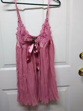 Victoria's Secret Lingerie Size Large Pink Great Condition