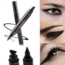 Black Liquid Winged Eyeliner Stamp Waterproof Makeup Cosmetic Eye Liner Pencil H