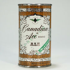 Canadian Ace Brewing - ALE - Flat Top Beer Can Chicago Illinois 48-5 NICE