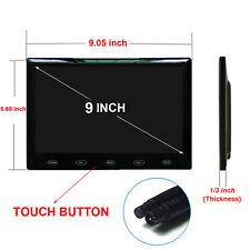 """US- 800x480 HD 9"""" Ultra Thin TFT LCD Color Audio HDMI VGA Car Rear View Monitor"""