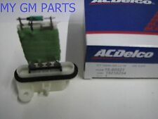 COLORADO CANYON A/C HEATER BLOWER MOTOR RESISTOR 2004-2012 NEW OEM 15218254