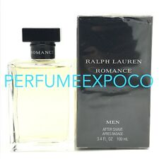 ROMANCE by RALPH LAUREN Men AFTER SHAVE LOTION 3.4oz-100ml *Discontinued (BD17