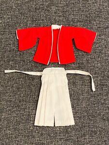 "SU-SAM-RW: 1/12 Red White Samurai outfit for 6"" Mezco slim body (No figure)"