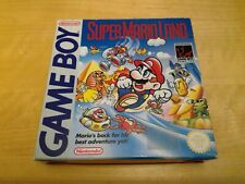 Super Mario Land Gameboy CIB with manual complete