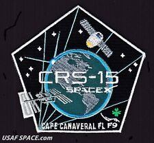 NEW CRS-15 - SPACEX ORIGINAL FALCON-9 DRAGON F-9 ISS NASA RESUPPLY Mission PATCH