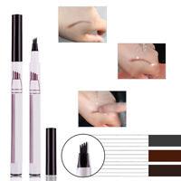 New Microblading Eyebrow Tattoo Pen Waterproof Fork Tip Sketch Makeup Ink Best