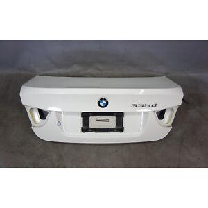2009-2011 BMW E90 LCI Sedan Trunk Boot Deck Lid Alpine White 3 OEM