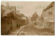 More details for old postcard farncombe high street godalming surrey wha real photo 1910-20