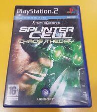 Tom Clancy's Splinter Cell Chaos Theory GIOCO PS2 VERSIONE ITALIANA