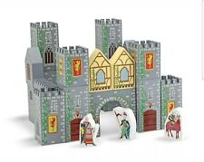 Melissa And Doug Wooden Castle Blocks 3years+