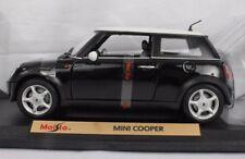 Maisto Special Edition NIB Mini Cooper 1/18 Scale Model 31619 Black