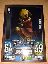 Force Attax Star Wars Serie 4 Star Karte 202 Zatt Sammelkarte Trading Card