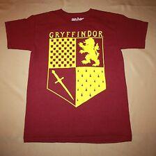 Harry Potter Adult Small Gryffindor Crest Shirt Short Sleeve T-Shirt