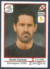 PANINI EURO 2012- #491-ENGLAND-BURSASPOR-SCOTT CARSON