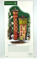 Department 56 Notting Hill Water Tower Dickens' Village Series #58708 New NOB