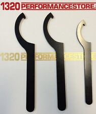 Coilover Adjustment Tool 3x Steel Spanner Wrenches for Aftermarket Coil Over Kit