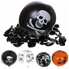 20pcs Halloween Balloons Pirate Skull Balloon Halloween Party Decorations Favors