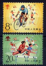 China PRC J118 Scott #2005-06 1985 2nd National Worker's Games Single Set