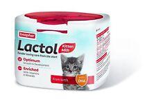 2 x Beaphar 500g Kitty Milch Lactol Katzenmilch Pulver Aufzucht Ersatzmilch