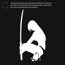 (2x) Ninja Girl Sticker Die Cut Decal Self Adhesive Vinyl sexy exotic karate