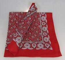 Pañuelo paisley rojo vierecktuch 70x70cm bandana Nikki maritimestuch