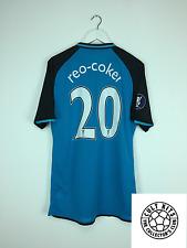 Aston Villa REO-COKER #20 *MATCH PREPARED* 08/09 Europa Football Shirt (XL)