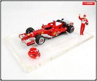 New Mattel Ferrari  248 F1 Michael Schumacher Brazilian GP 2006  Die Cast Car