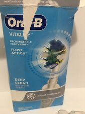 Oral B Floss Action Vitality Electric Toothbrush With Timer NO heads