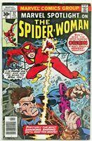 MARVEL SPOTLIGHT ON THE SPIDER WOMAN #32 FIRST APP. SPIDER-WOMAN-ORIGIN