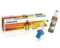1,2W BAX8.5d/1.5 blue 12V Vision 10St Philips BAX + 1x Sonax KlarSicht 1:100