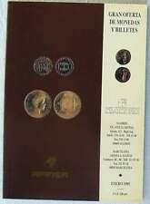 CATÁLOGO GRAN OFERTA DE MONEDAS Y BILLETES - AFINSA ENERO 1995 - VER DESCRIPCIÓN