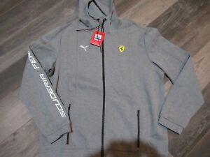 Puma Ferrari Scuderia Full Zip Hoodie Jacket Men's XL nwt Free Ship