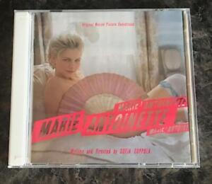 MARIE ANTOINETTE 2 CD FILM SOUNDTRACK NEW ORDER CURE BANSHEES BOW WOW WOW