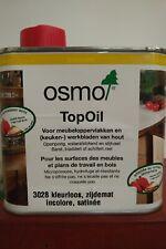 TopOil Osmo 0.5L pour contact alimentaire (Meubles, Plans de travail...)