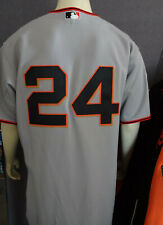 THROWBACK SAN FRANCISCO GIANTS WILLIE MAYS #24 AUTHENTIC MAJESTIC JERSEY MEN 44