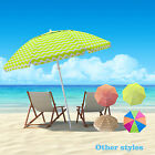 7FT Portable Travel Beach Shade Umbrella Shelter With Carry Bag Beach Umbrella