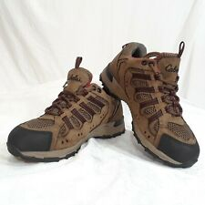 Cabela's Mens's Brown Leather Mesh X4 All-Terrain Dry Plus Hiking Shoes Size 8 D