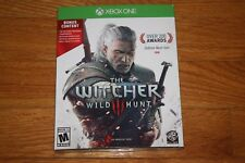 Brand New Sealed Xbox One The Witcher 3: Wild Hunt w/ Bonus Content SHIP FAST
