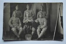 11A18 CPA CARTE POSTALE PHOTO D'UN GROUPE DE POILU 2e MITRAILLEURS CLASSE 1923