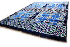 135 cm x 200 cm Orientalischer Teppich,Rug,Kelim,Carpet aus Damaskunst S 1-4-25