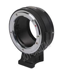 NF-NEX Mount Adapter X G F AI S D Lens Nikon To Sony Camera NEXE Mount 8 Stop