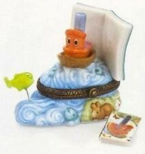 Scuffy the Tugboat  PHB Porcelain Hinged Box by Midwest of Cannon Falls