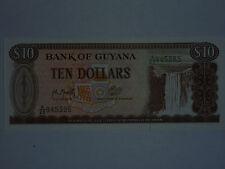 billet de 10 dollars de guyana