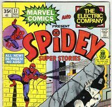 SPIDEY SUPER STORIES #37 Spider-Man & White Tiger from Nov. 1978 in F/G con.