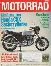 Motorrad 1 78 BMW R100S Zündapp KS 175 Honda CBX IZH Jupiter SH-12 XL 250 S 1978