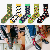 Unisex Men Women Creative Cotton Socks Food Fruit Series Couple Thermal Socks/AU
